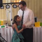 Vídeo Dança pai e filha