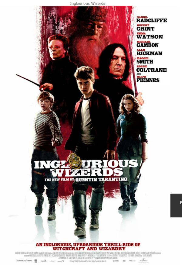 Mistura de Bastardos Inglórios com Harry Potter