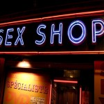 Sex shop letreiro