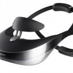 Óculos de realidade virtual da Sony