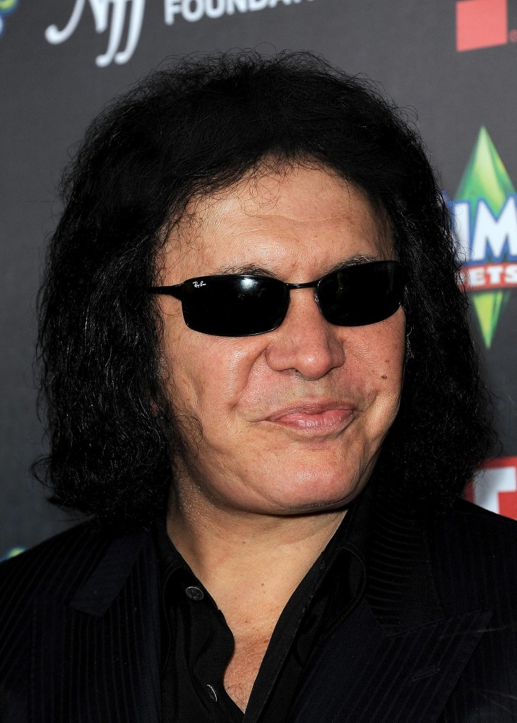 Gene Simmons, baixista do Kiss