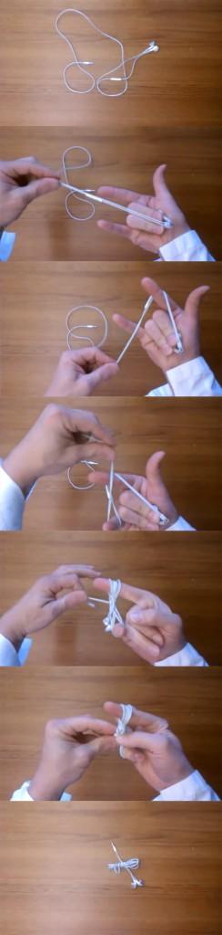 Técnica ninja para enrolar fone de ouvido