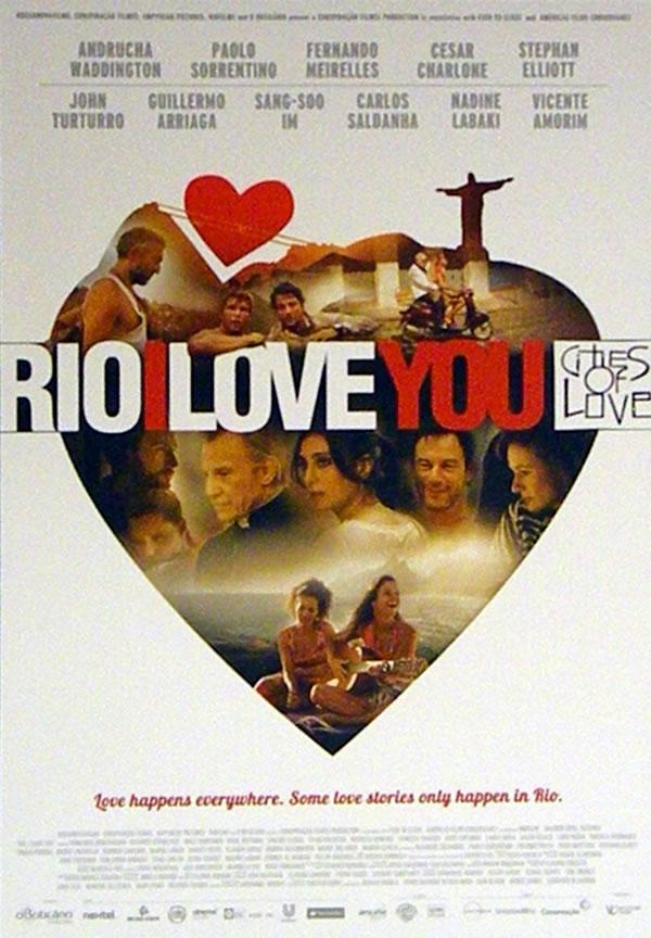 Primeiro pôster do filme Rio, Eu Te Amo