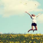 mulher e a felicidade