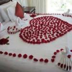 Romantismo que faz a diferença na vida do casal